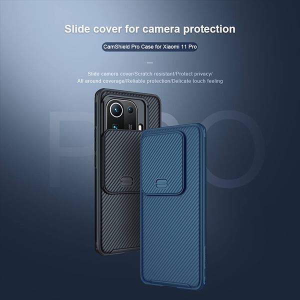 خرید قاب محافظ دوربین شیائومی Mi 11 Pro مدل نیلکین Camshield Pro