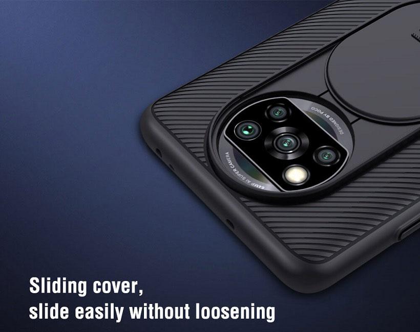 خرید قاب نیلیکن محافظ دوربین شیائومی پوکو X3 NFC