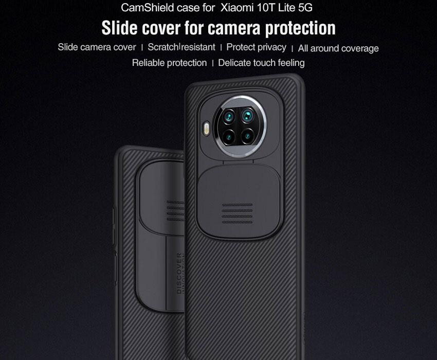 خرید قاب نیلیکن محافظ دوربین شیائومی می 10T لایت 5G