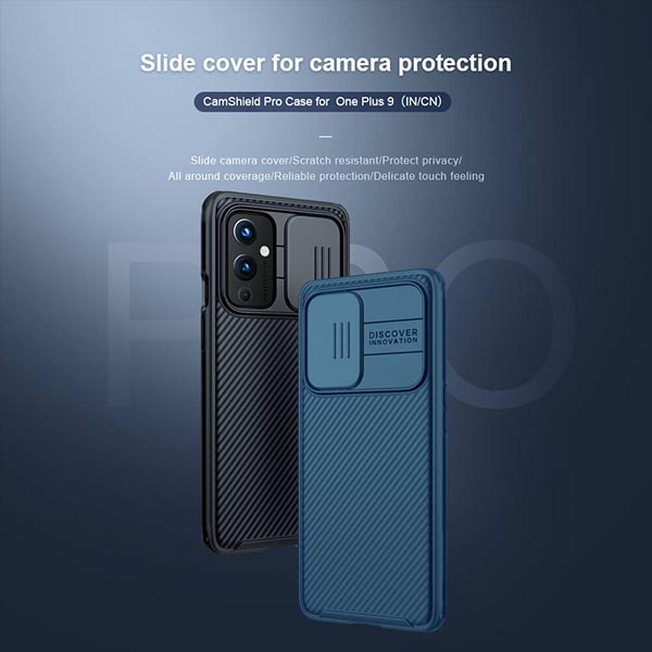 خرید قاب محافظ دوربین وان پلاس 9 مدل نیلکین Camshield Pro