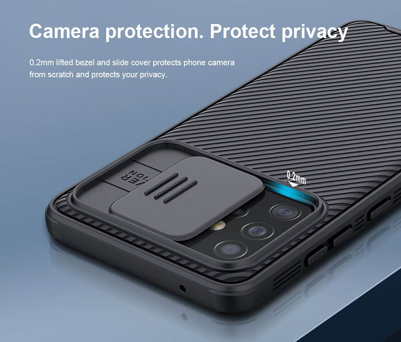 خرید قاب نیلیکن محافظ دوربین سامسونگ گلکسی A52 5G