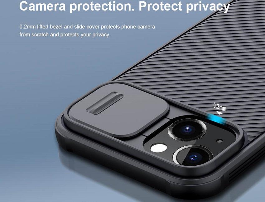 خرید قاب نیلیکن محافظ دوربین اپل آیفون 13