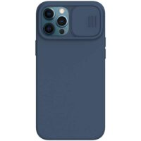 خرید قاب سیلیکونی محافظ لنز دوربین ایفون 12 Pro Max مدل Nillkin CamShield Silky