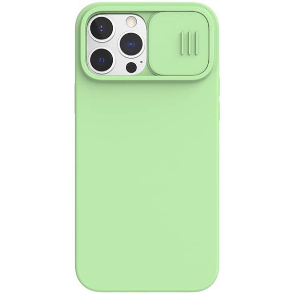 خرید قاب سیلیکونی نیلکین ایفون 13 پرو مکس مدل CamShield Silky Magnetic