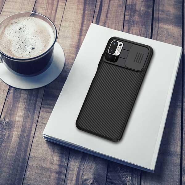 خرید قاب گوشی شیائومی Poco M3 Pro 5G مدل نیلکین CamShield