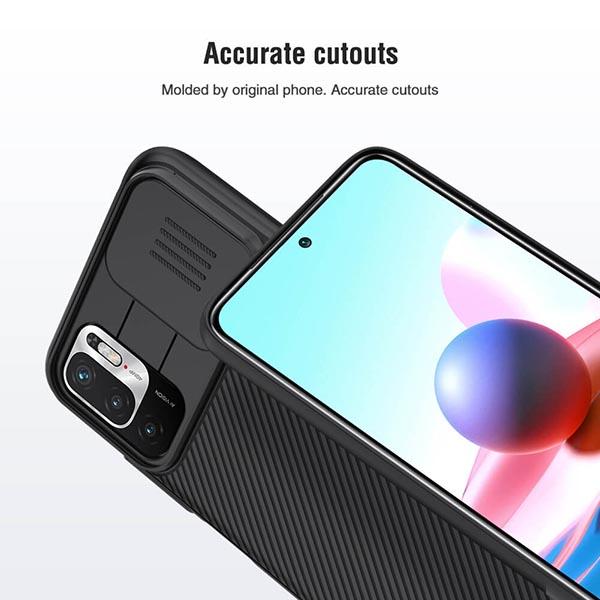 خرید قاب گوشی شیائومی Redmi Note 10 5G مدل نیلکین CamShield