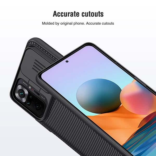 خرید قاب گوشی شیائومی Redmi Note 10 Pro/10 Pro Max مدل نیلکین CamShield