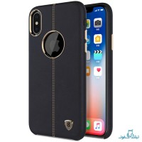 قیمت خرید قاب محافظ چرمی نیلکین گوشی اپل iPhone X