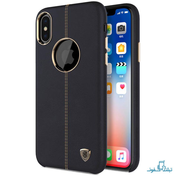 Nillkin Englon Leather case for Apple iPhone X-3-Buy-Price-Online