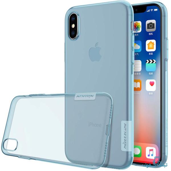 قیمت خرید قاب ژله ای نیلکین گوشی اپل iPhone X