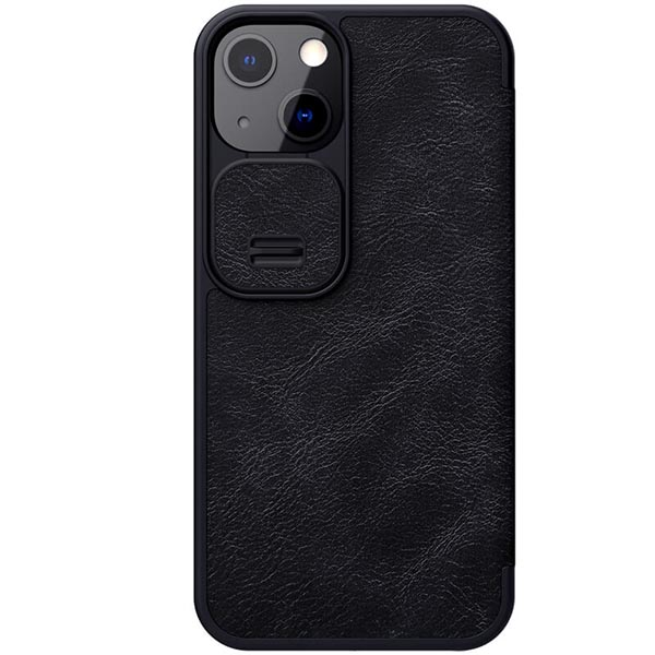 خرید کیف چرمی گوشی اپل ایفون 13 مدل نیلکین Qin Pro