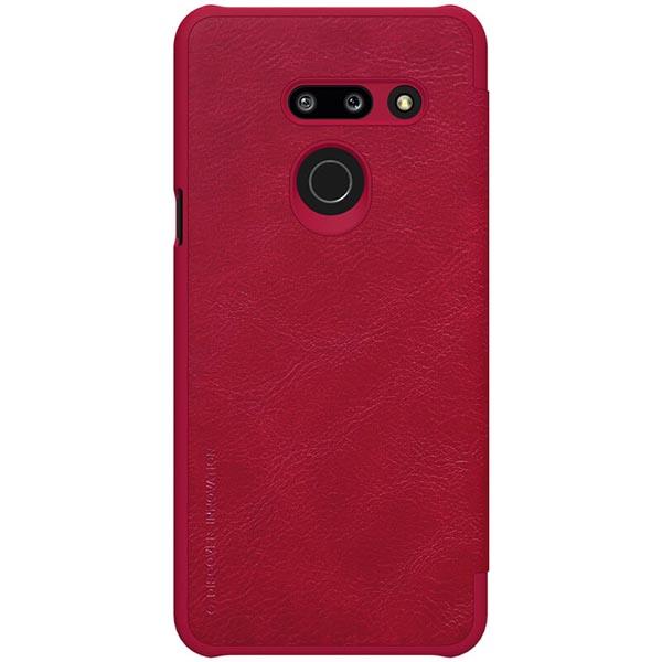 خرید کیف چرمی گوشی ال جی G8 ThinQ مدل نیلکین Qin