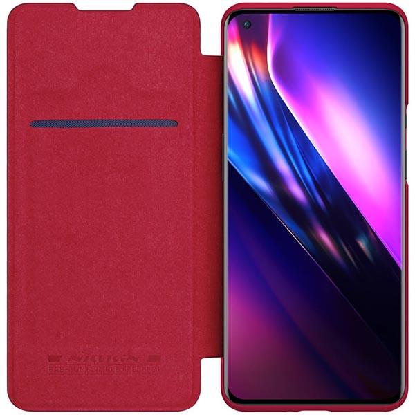 خرید کیف چرمی گوشی وان پلاس 9 پرو مدل نیلکین Qin