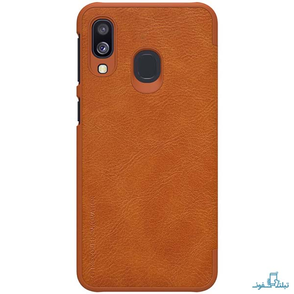 Nillkin Qin Flip Cover For Samsung Galaxy A40
