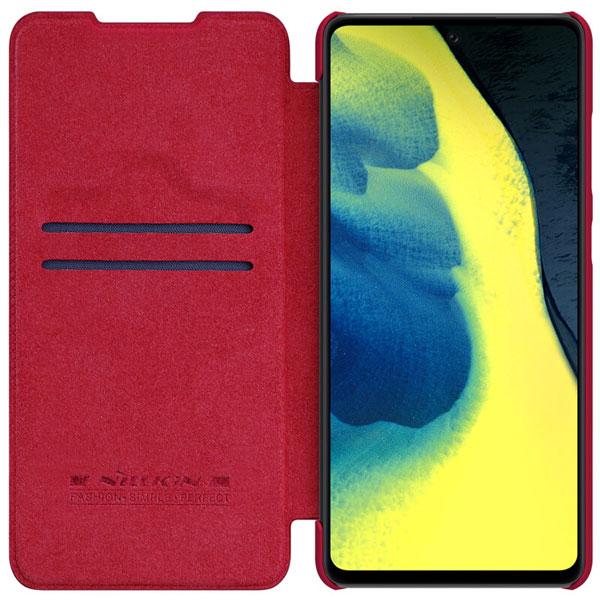 خرید کیف چرمی نیلکین گوشی سامسونگ گلکسی A72 5G