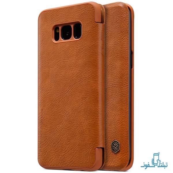 کیف چرمی نیلکین گوشی موبایل سامسونگ S8 پلاس