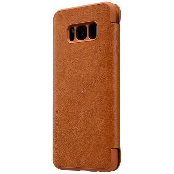 قیمت خرید کیف چرمی نیلکین گوشی موبایل سامسونگ Galaxy S8