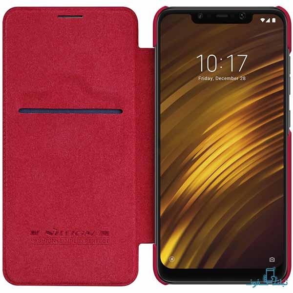 Nillkin Qin Flip Cover For Xiaomi Pocophone F1-shop-online