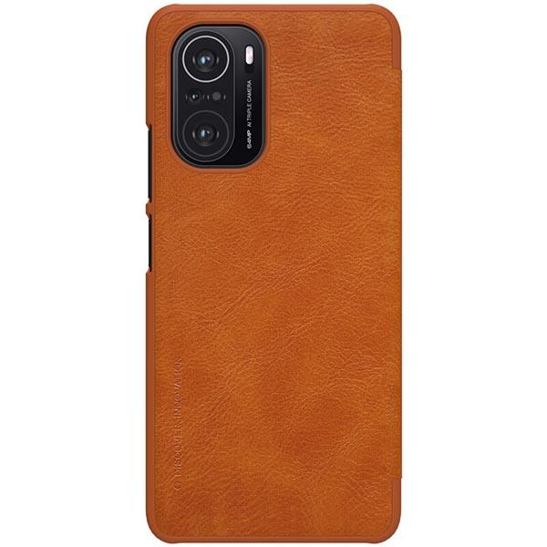 خرید کیف چرمی گوشی شیائومی Redmi K40 Pro Plus مدل نیلکین Qin