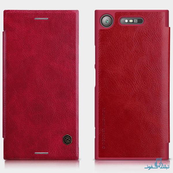 قیمت خرید کیف چرمی نیلکین گوشی سونی ایکس پریا XZ1
