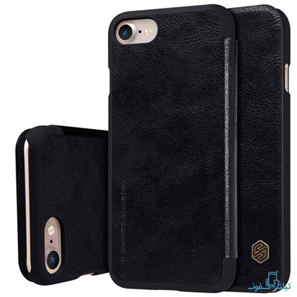 قیمت خرید کیف چرمی نیلکین گوشی اپل آیفون 8