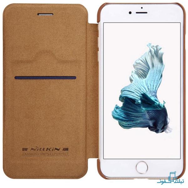 قیمت خرید کیف چرمی نیلکین گوشی اپل آیفون 8 پلاس