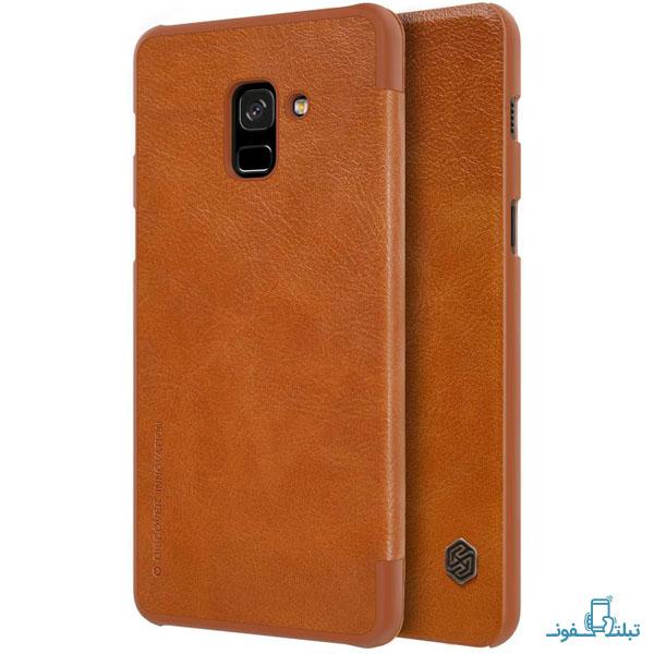 قیمت خرید کیف چرمی نیلکین گوشی موبایل سامسونگ گلکسی A8 2018