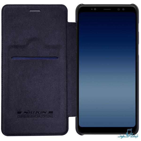 قیمت خرید کیف چرمی نیلکین گوشی موبایل سامسونگ گلکسی A8 Plus 2018