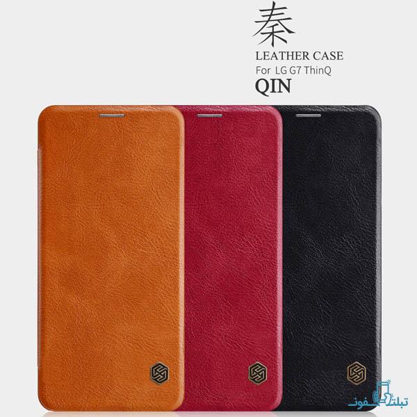 قیمت خرید کیف چرمی نیلکین گوشی ال جی G7 ThinQ