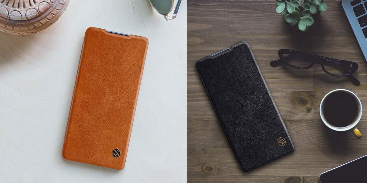 خرید کیف چرمی گوشی مدل نیلکین Qin