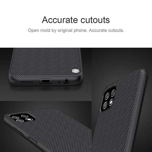 خرید قاب فیبر نیلکین سامسونگ Galaxy A22 5G مدل Textured nylon