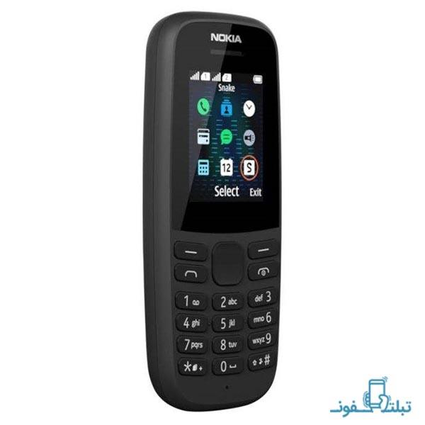 گوشی موبایل نوکیا 105 مدل 2019 دو سیم کارت