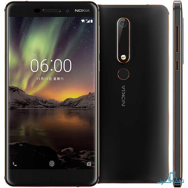 قیمت خرید گوشی موبایل نوکیا 6 نسخه 2018