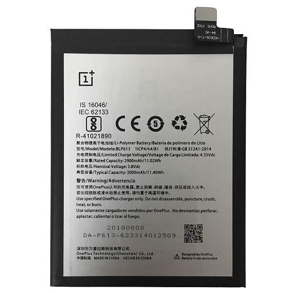خرید باتری گوشی وان پلاس 3 مدل BLP613
