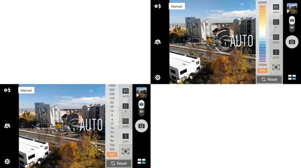 نقد و بررسی گوشی ایسوس زنفون سلفی ZD551KL - حالت دستی دوربین