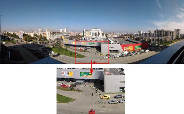 نقد و بررسی گوشی ایسوس زنفون سلفی ZD551KL - عکاسی پانوراما