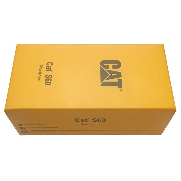 جعبه گشایی گوشی موبایل کت اس 60