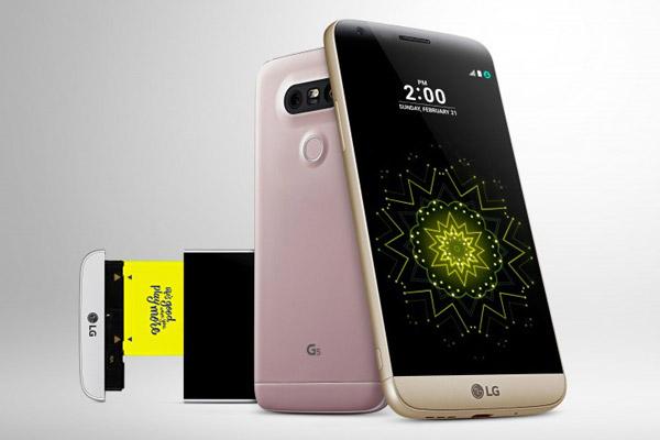 مشخصات گوشی الجی جی 5 اسای