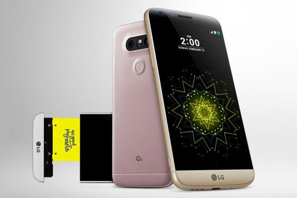 مشخصات گوشی ال جی جی 5