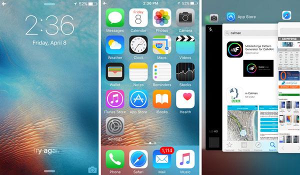 نقد و بررسی گوشی اپل آیفون اسای - رابط کاربری