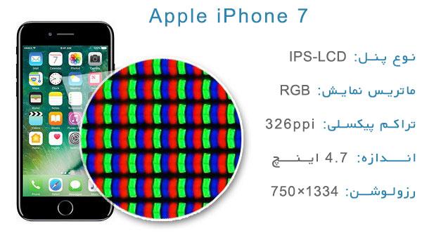 نقد و بررسی گوشی اپل آیفون 7 - صفحهنمایش