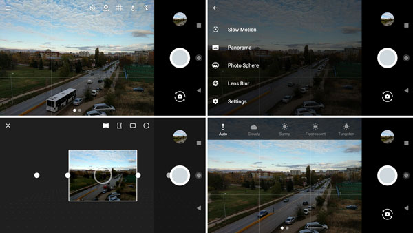 نقد و بررسی گوشی گوگل پیکسل - رابط کاربری دوربین