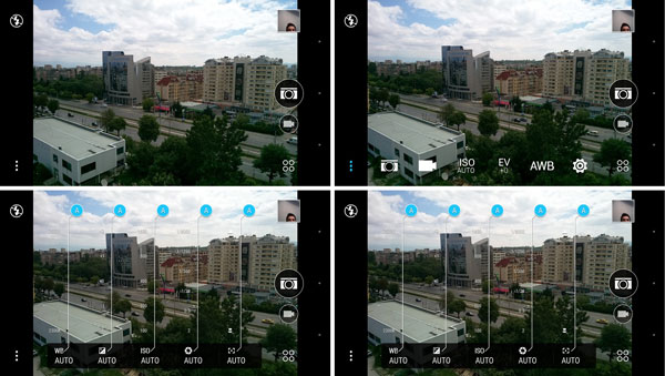 نقد و بررسی گوشی اچ تی سی وان ای 9 پلاس - رابط کاربری دوربین