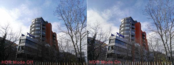نقد و بررسی گوشی هواوی جی 8 - دوربین - حالت HDR