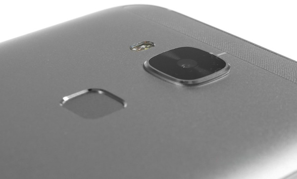 نقد و بررسی گوشی هواوی جی 8 - طراحی - سنسور اثر انگشت