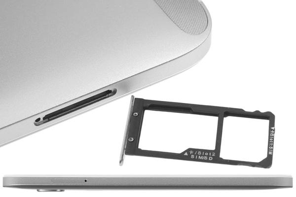 نقد و بررسی گوشی هواوی جی 8 - طراحی - سمت چپ دستگاه