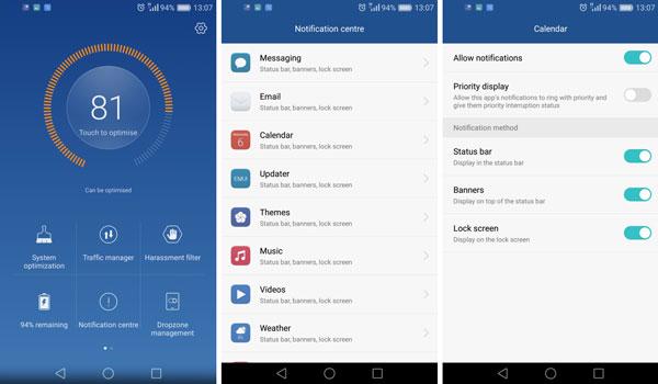 نقد و بررسی گوشی هواوی پی 9 پلاس - رابط کاربری