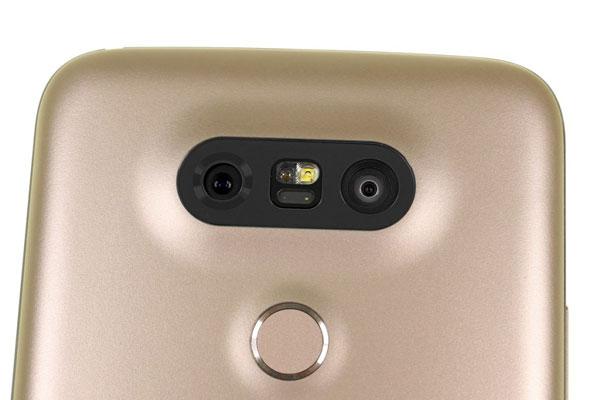 نقد و بررسی گوشی الجی جی 5 - دوربینهای پشتی