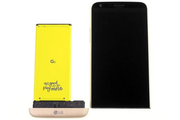 گوشی الجی جی 5 - طراحی مجیک اسلات