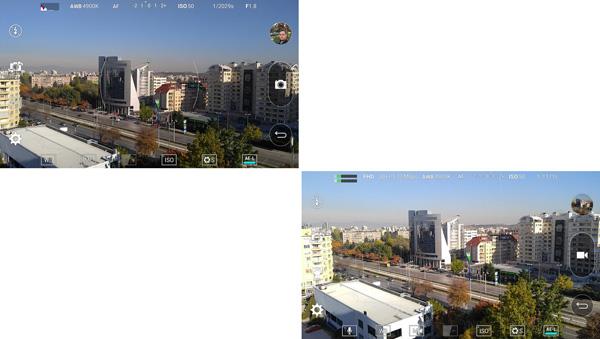 نقد و بررسی گوشی الجی وی 10 - رابط کابری دوربین